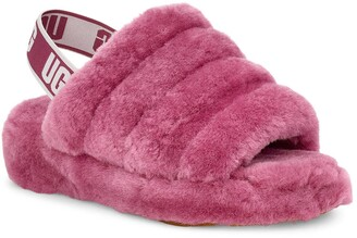 UGG Fluff Yeah Genuine Shearling Slide