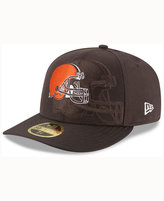 New Era Cleveland Browns Sideline Low Profile 59FIFTY Cap