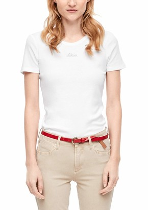 S'Oliver Women's Onlried S/l Layered Top WVN T-Shirt