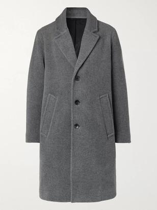 Mr P. Oversized Melange Wool Coat