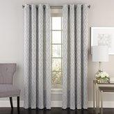 Lorraine Home Fashions 09781-63-00399 Serpentine Grommet Window Curtain Panel