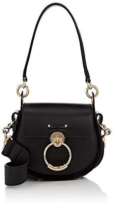 Chloé Women's Tess Small Leather Shoulder Bag - Black