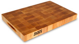 & Co.® Reversible End-Grain Chopping Block with Grips