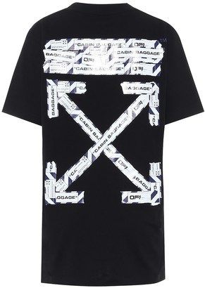 Off-White Off White Logo cotton-jersey T-shirt