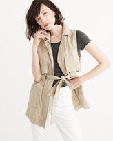 Abercrombie & Fitch Drapey Trench Vest