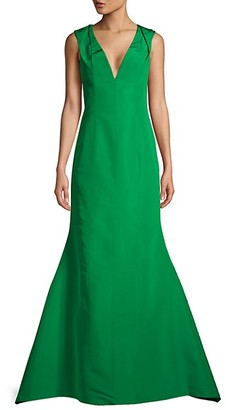 Carolina Herrera Silk Mermaid Gown
