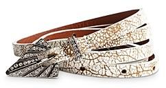 Zadig & Voltaire Women's Studio 54 Leather Belt