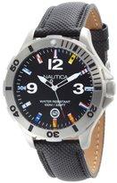 Nautica Men's N12565G BFD 101 Black Dial Watch