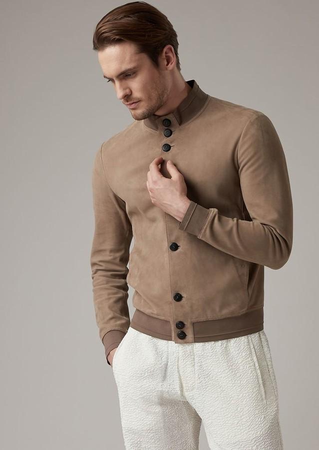 4339c73b Premium Quality Lambskin Suede Jacket