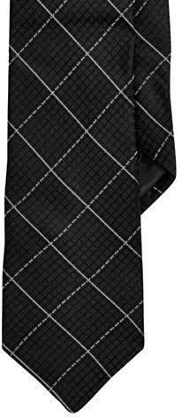 Calvin Klein Grid Slim Tie