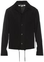 Mcq Alexander Mcqueen Peak-lapel Wool Harrington Jacket