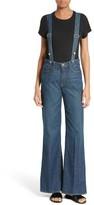 Frame Women's Le Capri Suspender Jeans