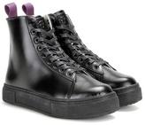 Eytys Kibo Leather High-top Sneakers