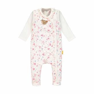 Steiff Baby Girls' Set Strampler + T-Shirt Langarm Clothing
