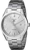 Tag Heuer Men's WV211W.BA0787 Carrera Analog Display Swiss Automatic Watch