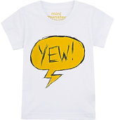 "Munster ""YEW!\"" T-SHIRT-WHITE SIZE 6/12"