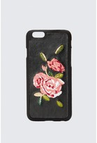 Select Fashion Fashion Embroidered Rose Iphone 6 Case Phone Case - size One