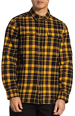 The North Face Arroyo Cotton Plaid Regular Fit Flannel Button Down Shirt
