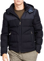 Polo Ralph Lauren Wool Twill Down Coat