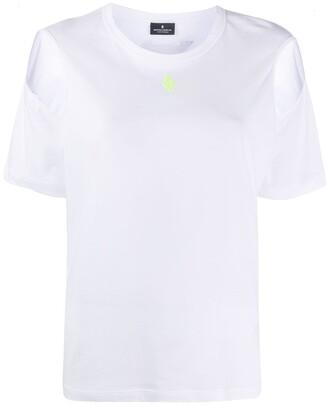 Marcelo Burlon County of Milan cold shoulders T-shirt
