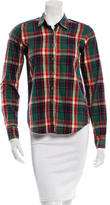 Steven Alan Plaid Long Sleeve