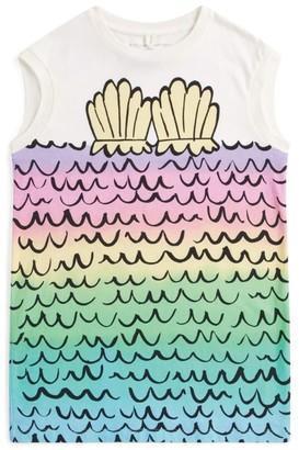 Stella McCartney Mermaid Shell T-Shirt Dress