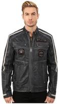 Affliction American Rebel Leather Moto Jacket