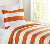 Pottery Barn Kids Rugby Stripe Duvet Cover