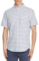 Sovereign Code Side Line Striped Regular Fit Button Down Shirt