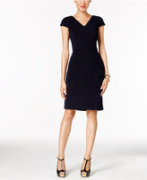 Betsey Johnson Metallic Sheath Dress