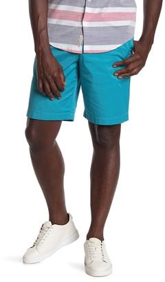 Original Penguin Stretch Straight Fit Shorts