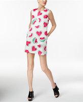 Love Moschino Watermelon-Print Mini Shift Dress