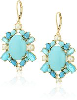 "Kate Spade Azure Allure"" Leverbacks Earrings"