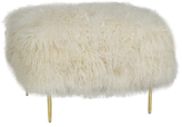 Curly Fur Mandy Ottoman