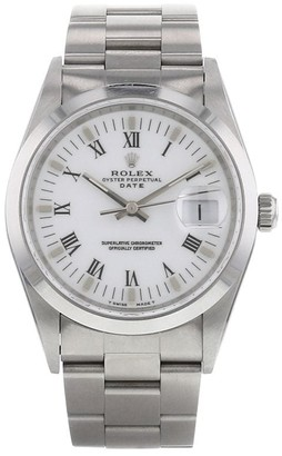 Rolex 1996 pre-owned Oyster Perpetual Date 34mm