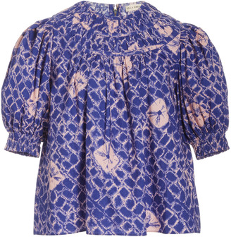 Ulla Johnson Carmela Printed Cotton Top
