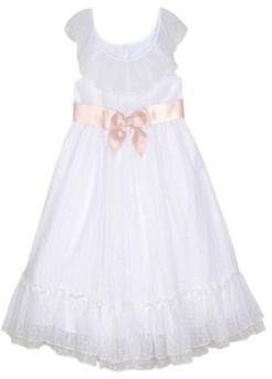 Laura Ashley & Marmellata Laura Ashley London Baby Girl's Ruffle Neck Dress with Sash