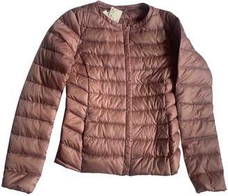 Uniqlo Pink Leather Jacket for Women