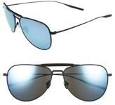 Salt Men's Striker 59Mm Aviator Sunglasses - Black Sand