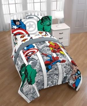 Disney Marvel Comic Twin 6-Pc. Comforter Set Bedding