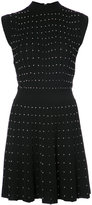 Balmain knit studded mini dress