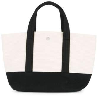 Cabas colour block small tote bag