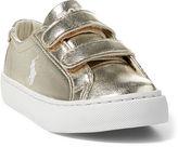 Ralph Lauren Scholar Metallic EZ Sneaker
