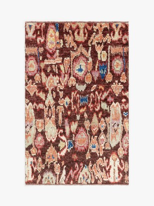 Gooch Luxury Hand Knotted Traditional Ikat Berber Style Rug, L180 x W120 cm