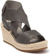 Eileen Fisher Willow Leather Wedge Sandal
