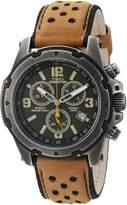 Timex Men's TW4B01500 Expedition Sierra Leather Strap Watch