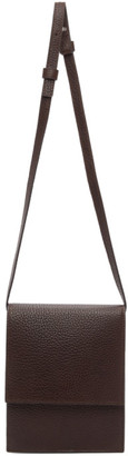 Lemaire Brown Small Satchel Bag