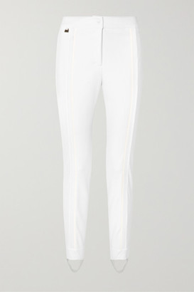 Fendi Stretch-jersey Stirrup Ski Pants - White