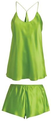Olivia von Halle Silk Bella Camisole Pyjama Set