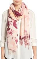 Nordstrom Women's Bouquet Romantique Wool & Cashmere Scarf